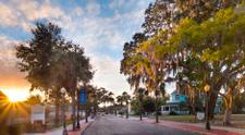 Downtown Tarpon Springs Sunset, Florida