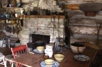 Inside A Pioneer Cabin