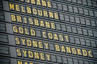 Australian Departure Board