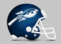 Football team helmet