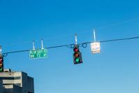 green traffic light at a crossing