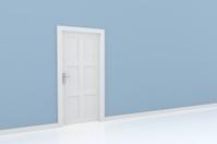 rendering of a door