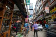 narrow street at Kathmandu market