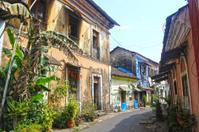 Panaji (Panjim): Portuguese-style street, Goa