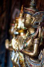 Thai goddess sculpture