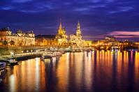 Dresden Germany Skyline