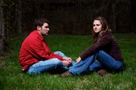 Ecuadorian young adult couple portraits