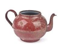 old iron kettle