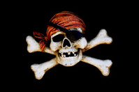 pirate skull crossbone