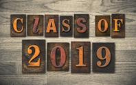 Class of 2019 Wooden Letterpress Type Concept