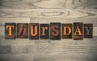 Thursday Wooden Letterpress Concept