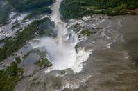 Devil's Throat waterfall of the Iguazu