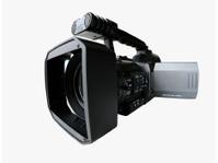 Professional Digital Video Camera in Fisheye