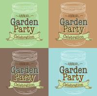 Garden Party Invitation Template stock photos - FreeImages.com