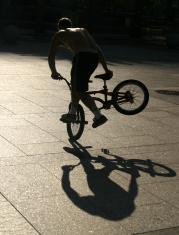 Urban Bicycle Rider