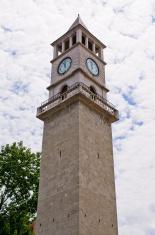 Old tower in Tirana, Albania