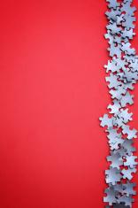 Jigsaw Puzzle Border