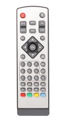 Silver Remote control of Digital TV