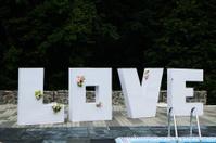 3d letters love