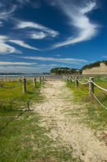 Orewa Beach  path