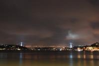 Bosphorus Bridge Night Scene