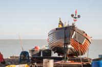 Fishing Boat in Deal, Kent, UK
