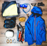 Mountain climbing gear