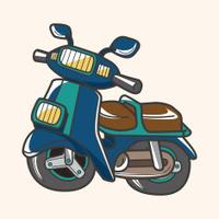 transportation motor theme elements vector, eps