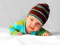 Zdjęcie studyjne niemowlaka