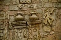 closeup details of the architecture art in Barbanera Church, Chi