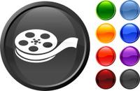 camera film roll internet royalty free vector art