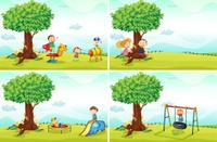 Children and park