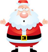 confused cartoon santa claus stock photos freeimages com Person Shrugging Clip Art Scrubs Clip Art