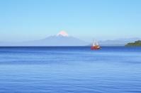 Volcano Osorno, lake Llanquihue, Patagonia, Chile