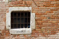 Brick Wall - Barred Window