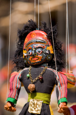 Indian god - puppet