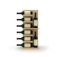 wooden wine stand