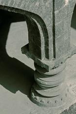 Pillar detail at Panhala fort