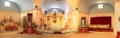 Church at pica, atacama, chile,