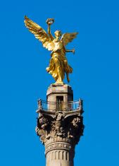 El Angel in Mexico City, Mexico.