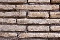 Brick wall in Colosseum, Rome.