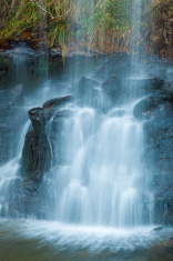 Waterfall in the Pas Valley, Cantabria
