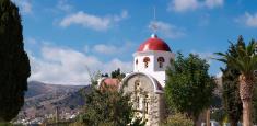 Greek ordhodox church in Crete