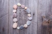 Stone alphabet - D