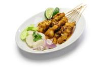 chicken satay, indonesian cuisine