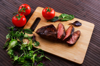Beef steak - Stock Image