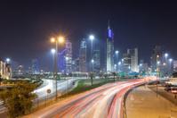City of Kuwait at night