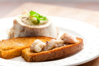bone marrow with fried bread