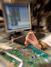 Examining a Printed Circuit Board