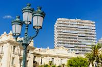 Lamp street in Monaco